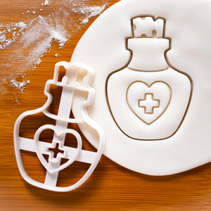 Health Healing Potion Bottle Cookie Cutter