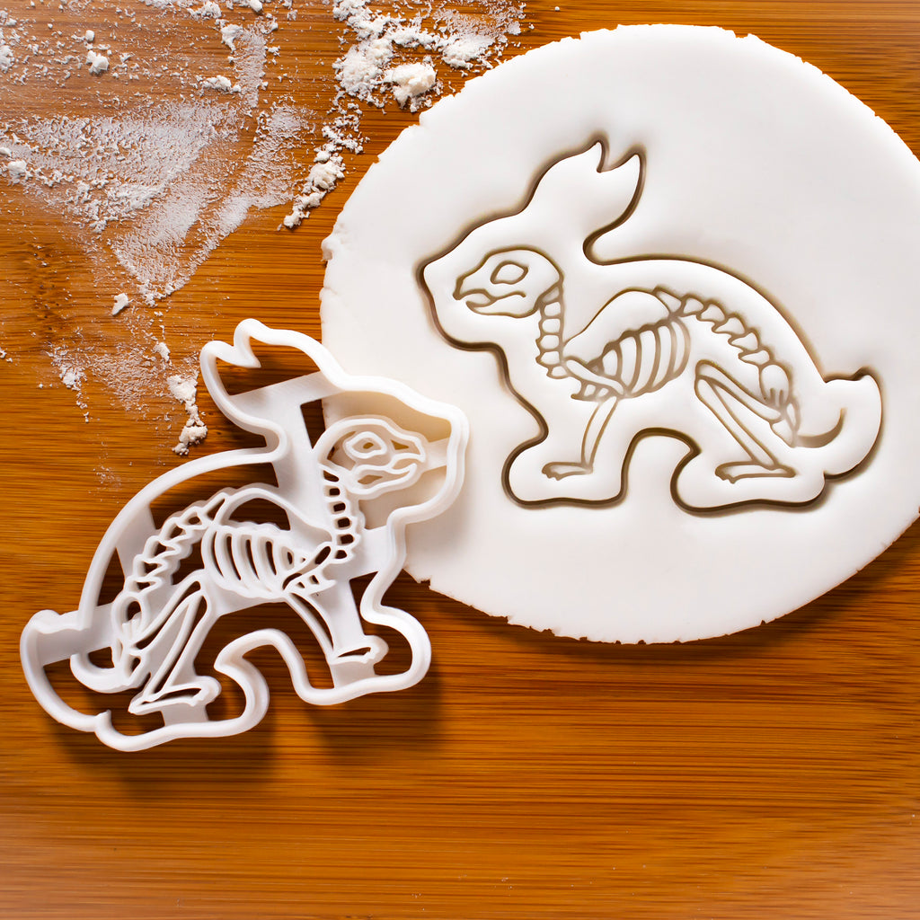 Rabbit Skeleton Cookie Cutter