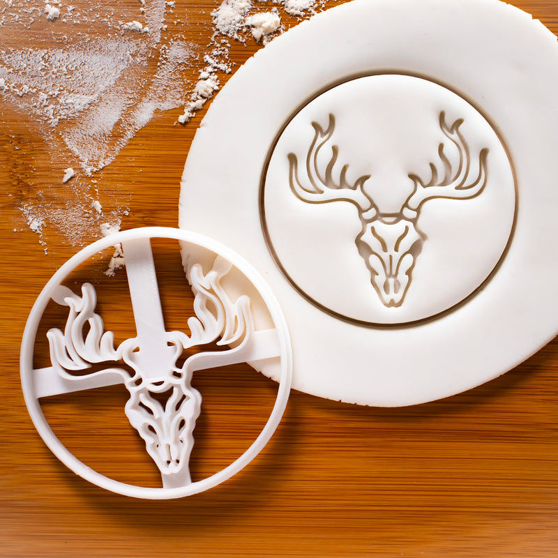 Stag Skull Cookie Cutter