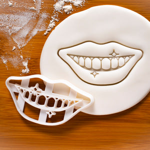 Dentist Shiny Teeth Cookie Cutter