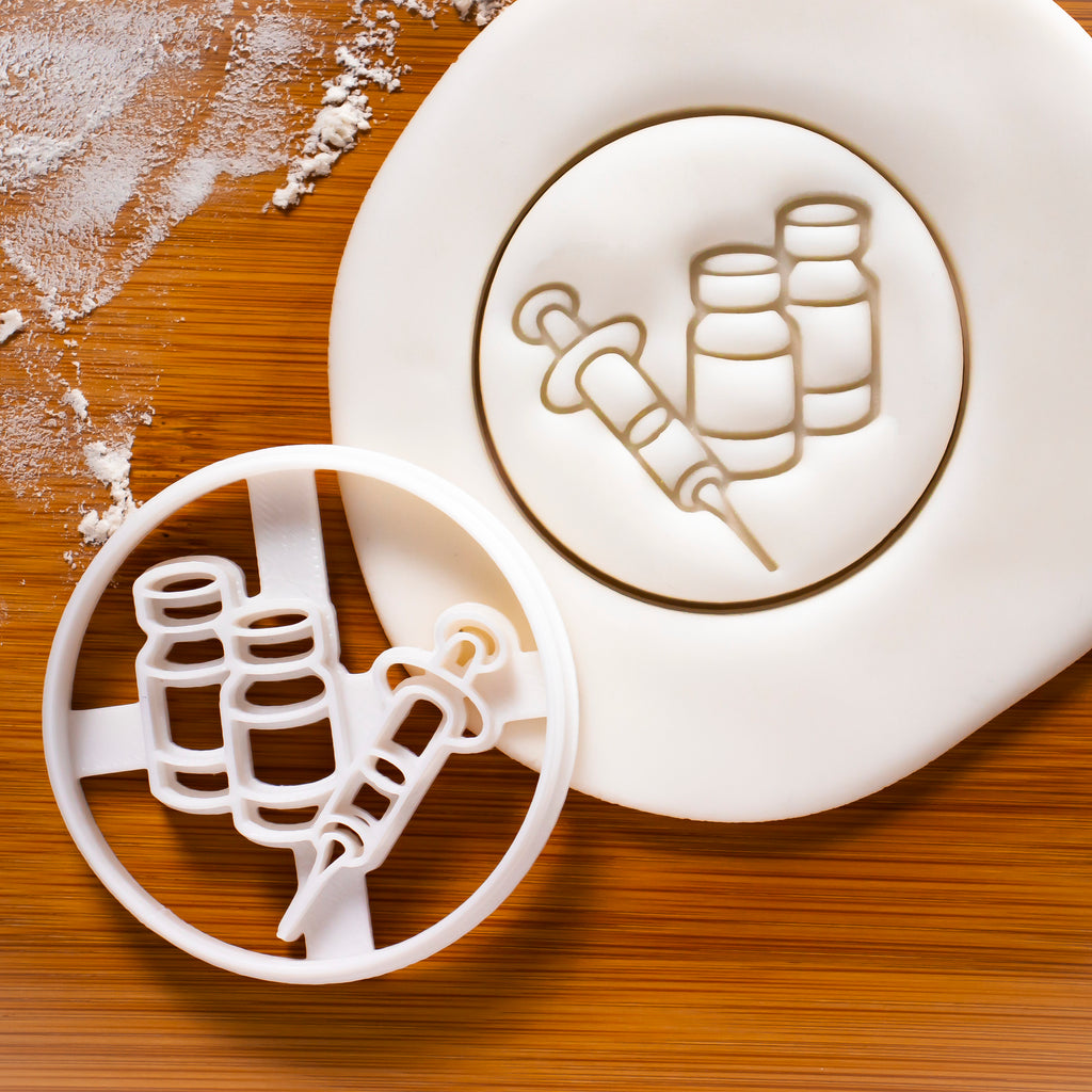 Rabies Vaccine Cookie Cutter