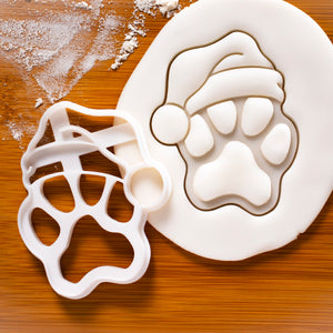 Realistic Santa Claus Paw Cookie Cutter