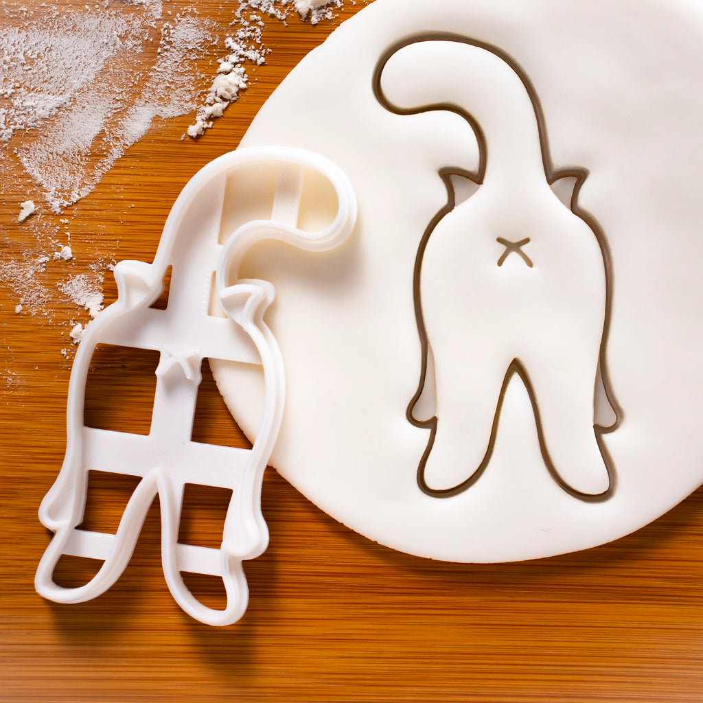 Kitty Butt Cookie Cutter