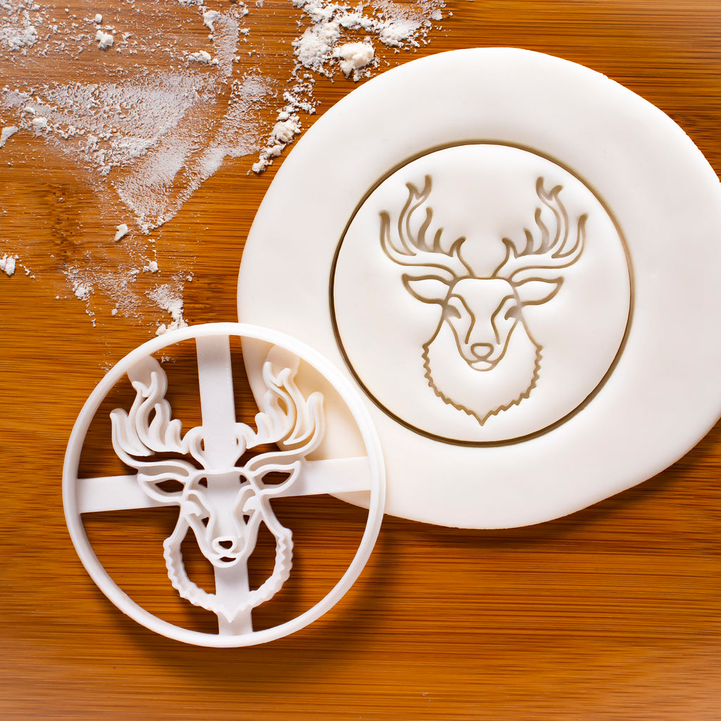 Stag Head Cookie Cutter