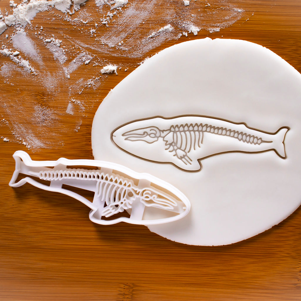 Blue Whale Skeleton Cookie Cutter