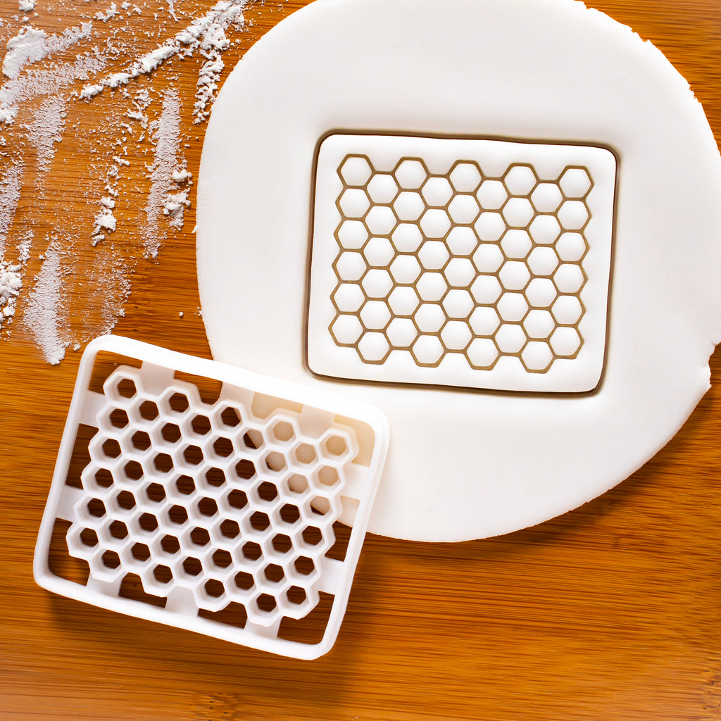 Honey Cut Comb Cookie Cutter