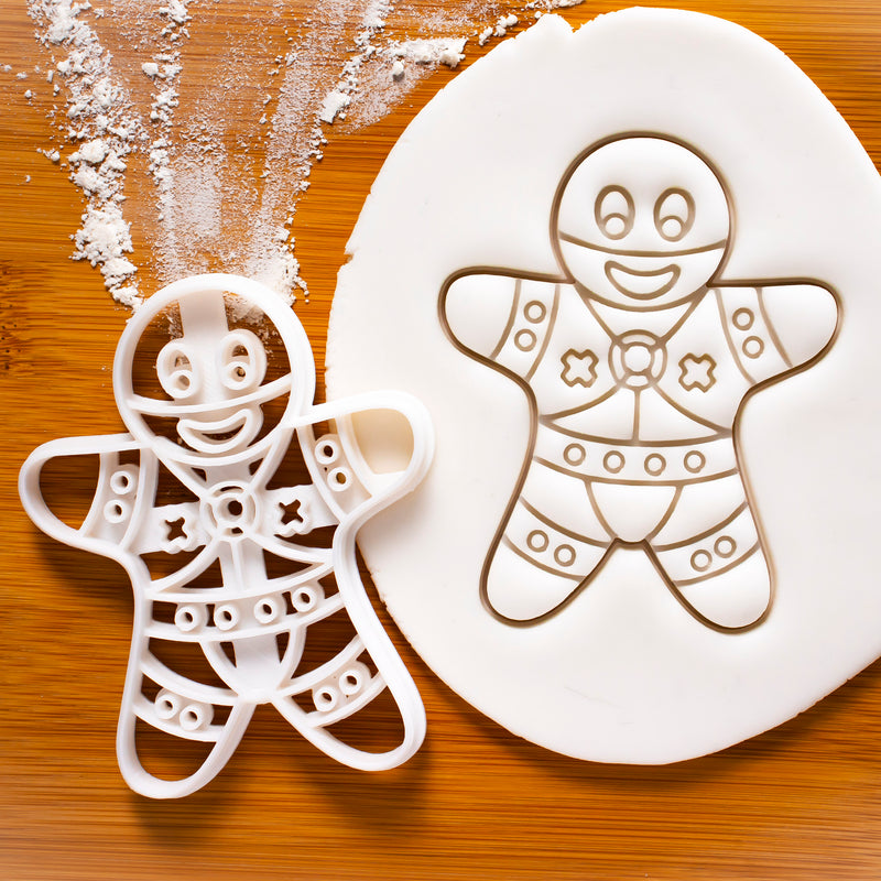 BDSM Dominant gingerbread man cookies