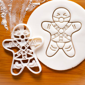BDSM Submissive Gingerbread Man Cookie Cutter