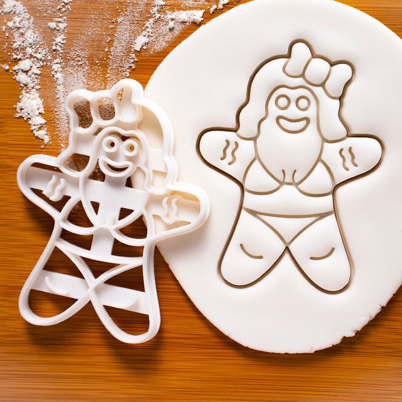 Summer Bikini Gingerbread Woman Cookie Cutter