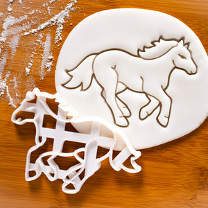 Horse Running Cookie Cutter