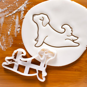 Yoga Dog Upward Facing Cookie Cutter