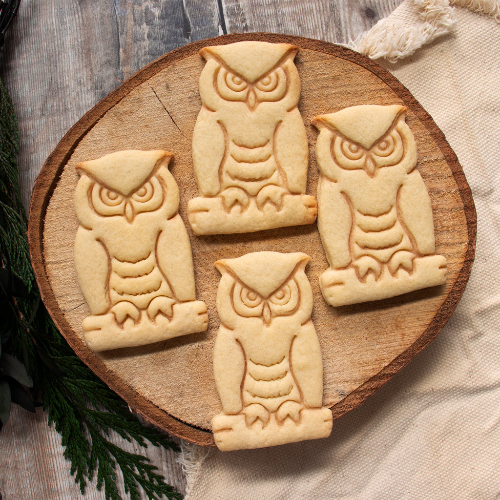 Great Horned Owl Cookies