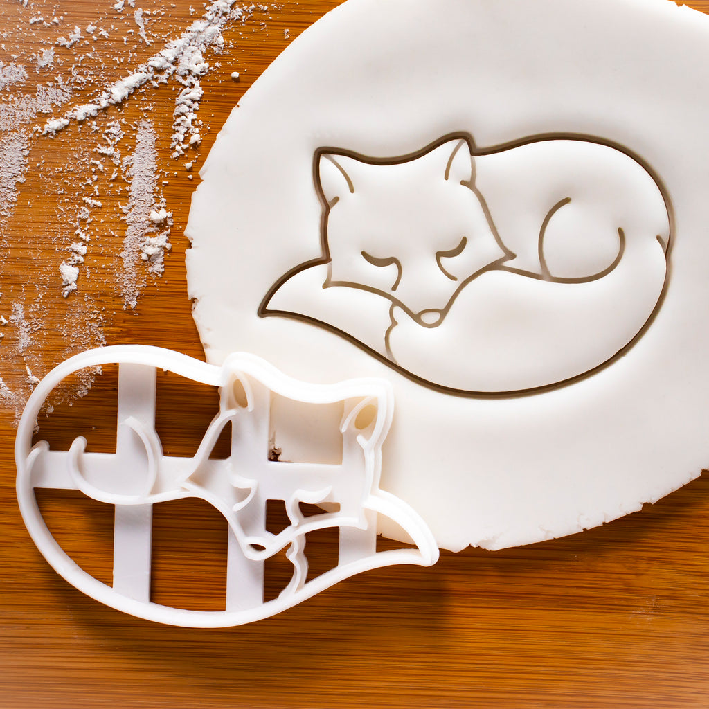 Fox Sleeping Cookie Cutter