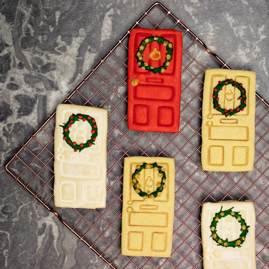 house door cookies