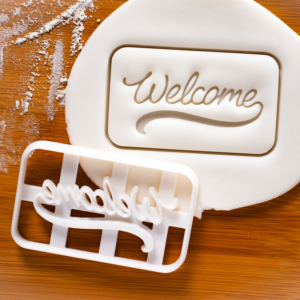 Welcome Mat Cookie Cutter
