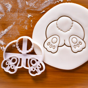 Easter Bunny Butt Cookie Cutter