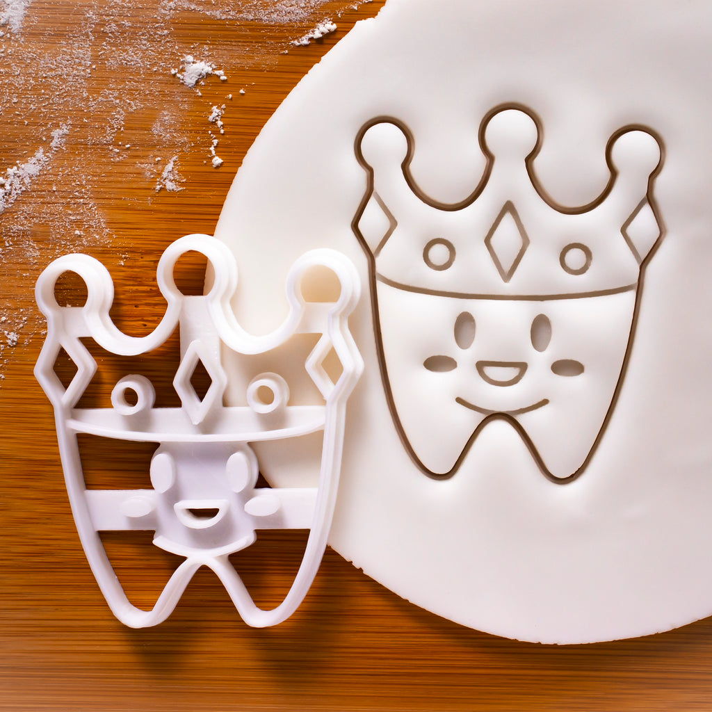 Cute Dental Crown Cookie Cutter