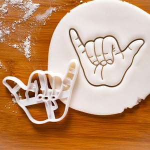 Shaka Hand Sign Cookie Cutter