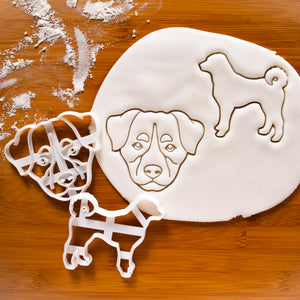 Set of 2 Appenzeller Sennenhunde Cookie Cutters