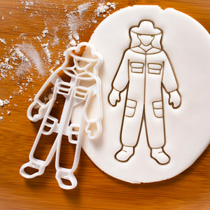 Beekeeper Suit Cookie Cutter