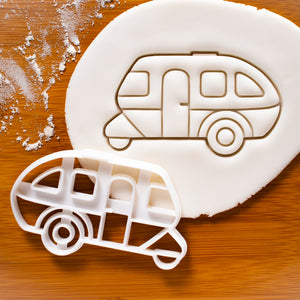 Camping Caravan Cookie Cutter