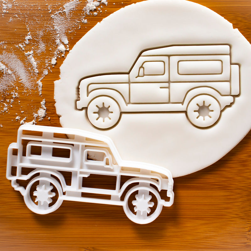 4x4 Sports Utility Vehicle (SUV) Cookie Cutter
