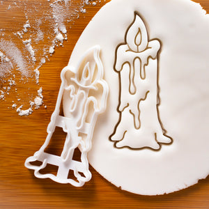 Witch Candle Cookie Cutter