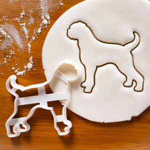 Boxer Silhouette cookie cutter