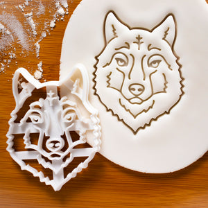 Wolf Head Cookie Cutter
