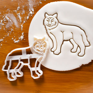 Wolf Body Cookie Cutter