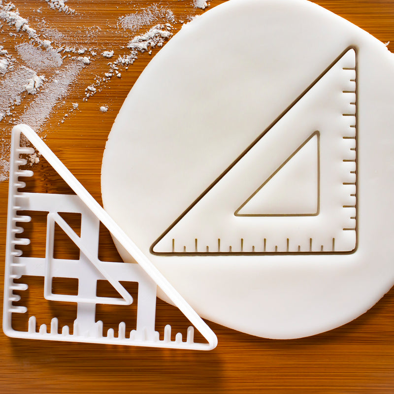 45 degree Set Square Cookie Cutter