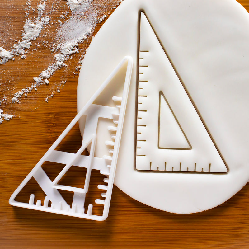 60 degree Set Square Cookie Cutter