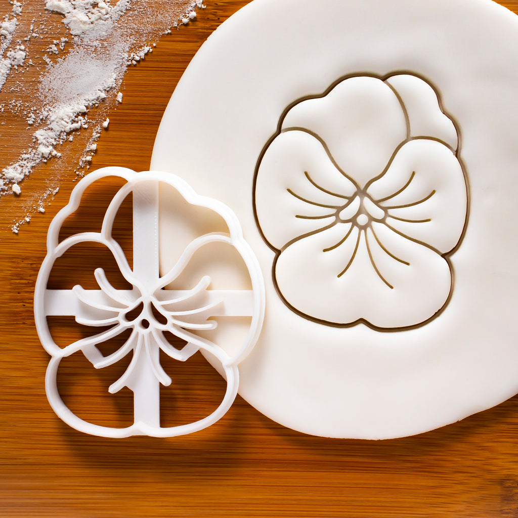 Pansy Flower Cookie Cutter.