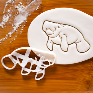 Realistic Manatee Cookie Cutter