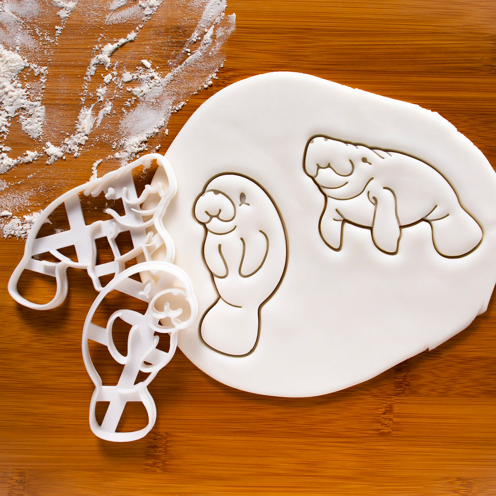 Set of 2 Manatee Cookie Cutters