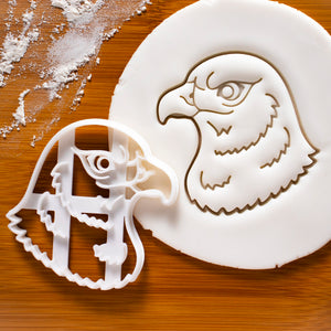 Hawk Face Cookie Cutter