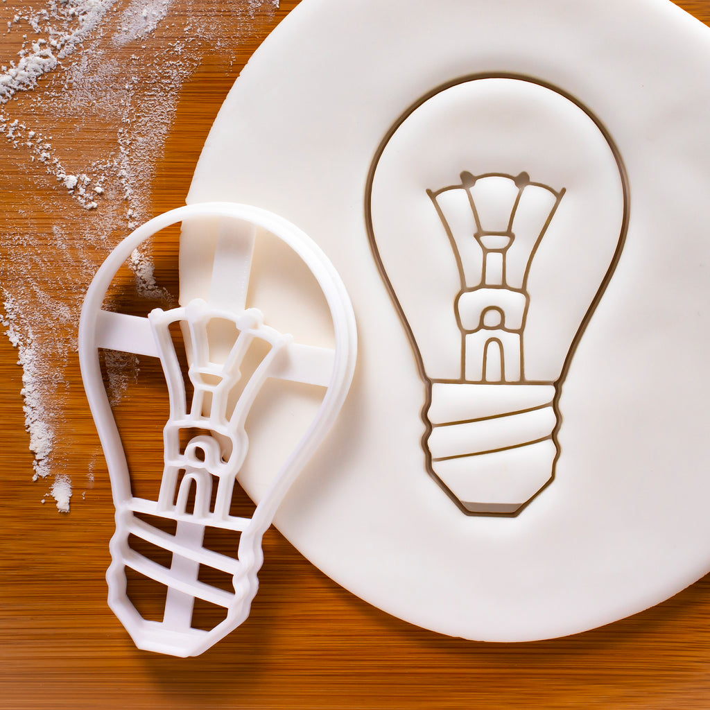 light bulb cookie cutter