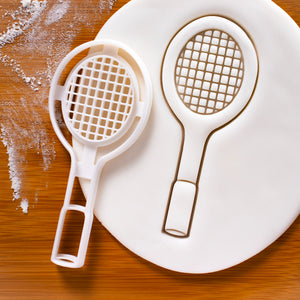 Badminton Racket Cookie Cutter