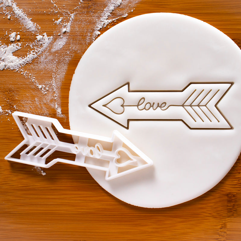 Bohemian Love Arrow Cookie Cutter