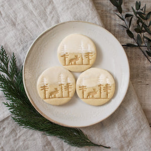 forest moose cookies
