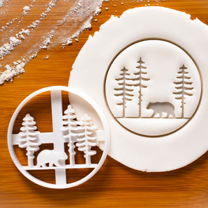 Forest Bear Cookie Cutter