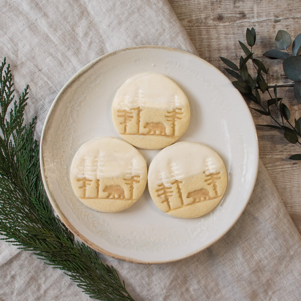 forest bear cookies