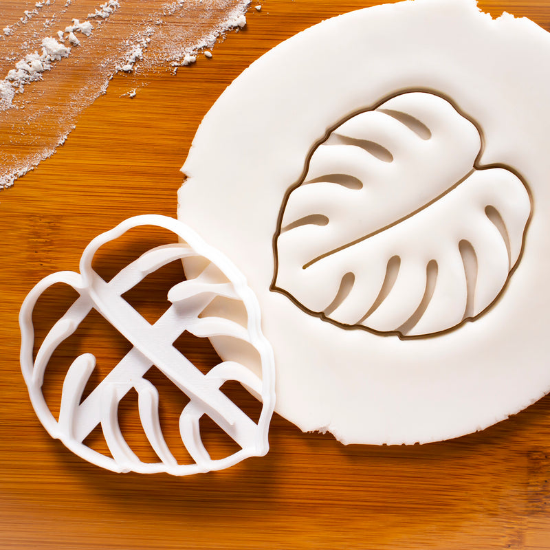Monstera Leaf (Swiss Cheese Plant) Cookie Cutter