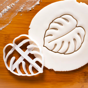 Monstera (Swiss Cheese Plant) cookie cutter