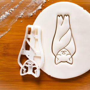 Sleeping Bat Cookie Cutter