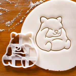 Hamster Grooming Cookie Cutter