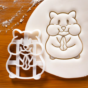 Hamster Eating Cookie Cutter