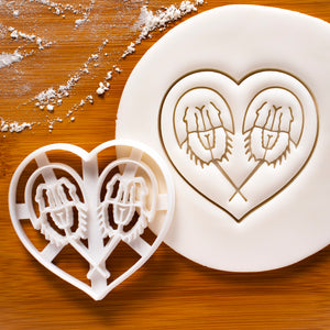Horseshoe Crab Love Cookie Cutter