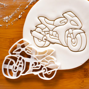 Motorbike Cookie Cutter