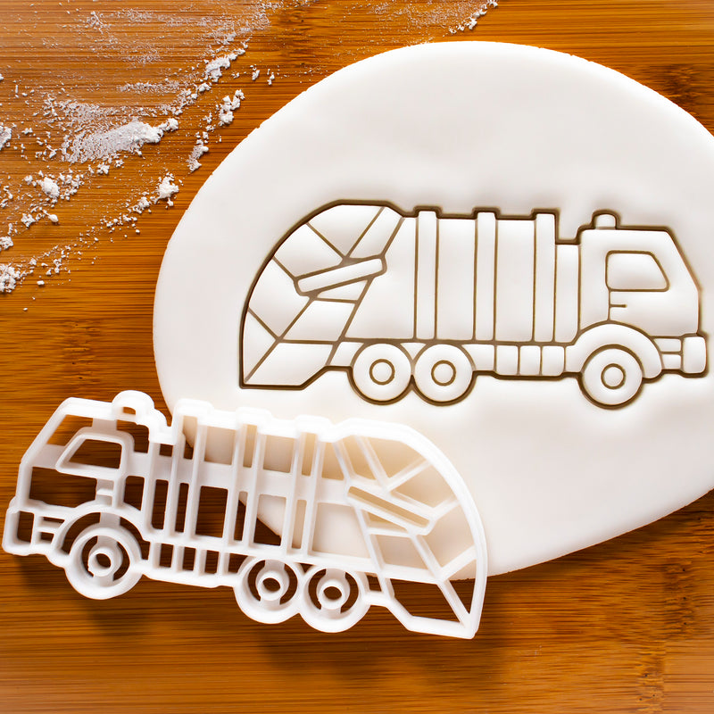 Rubbish Truck (Garbage Lorry) Cookie Cutter